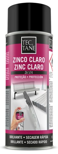 Spray Zinc Claro-brillante 400 ml