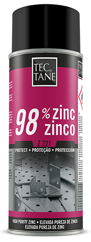 Spray Zinc 98% Oscuro, 400 ml