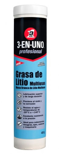 3 EN 1 GRASA DE LITIO MULTIUSOS 400gr