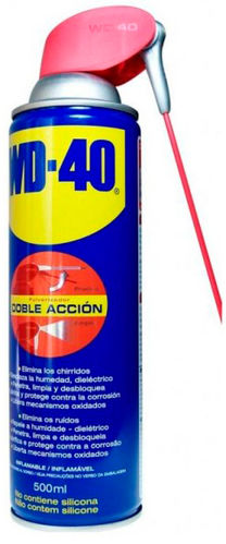 WD-40 PULVERIZADOR 500ML DOBLE ACCION