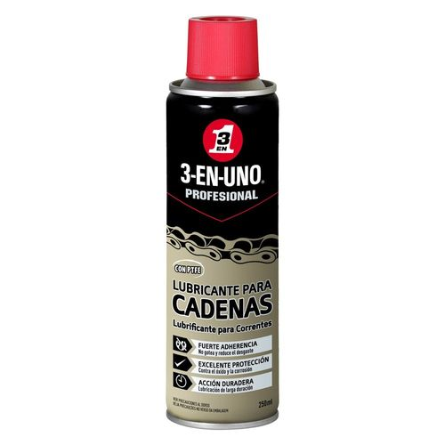 3 EN 1 LUBRICANTE CADENAS SPRAY 250ML