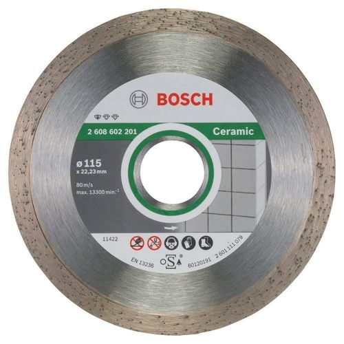 Disco Bosch Diamante Standard Ceramic: 115x1,6x7mm