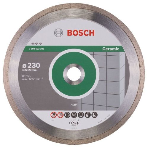 Disco Bosch Diamante Standard Ceramic: 230x1,6x7mm