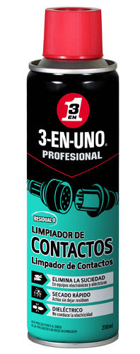 3 EN 1 LIMPIACONTACTOS SPRAY 250ML
