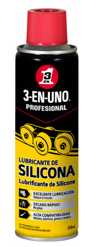 3 EN 1 LUBRICANTE SILICONA SPRAY 250ML